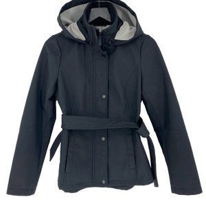 SEBBY Softshell Belted Detachable Hood Jacket